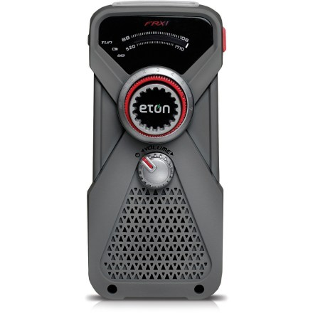 Camp and Hike The Eton FRX 1 radio comes in a compact and portable design, keeping you informed and prepared for emergencies and travel, whether you have a power source or not! - $11.83