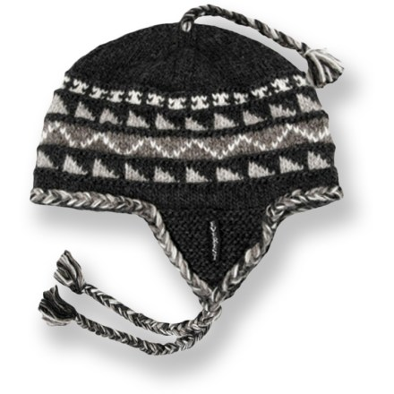 Entertainment Offering traditional warmth and a fun design, this wool Everest Designs Sherpa earflap hat is handcrafted by women's knitting cooperatives in Nepal. - $32.95