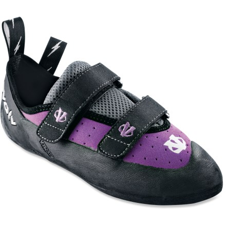 Climbing Whether you're new to the sport or a seasoned pro, the women's evolv Elektra VTR rock shoes give your feet the comfort and performance needed to master most styles of climbing. - $49.93