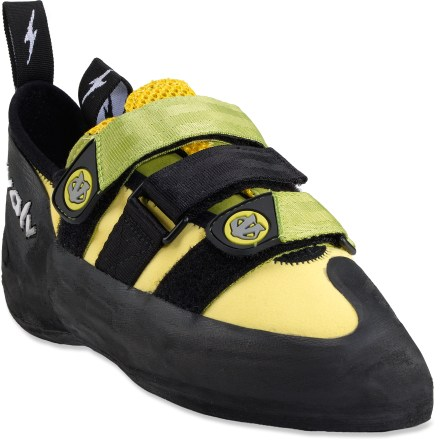 Climbing The updated evolv Pontas II rock shoes improve upon the orginal Pontas shoes to give you a more secure fit and feel while you sport climb and boulder. - $74.93