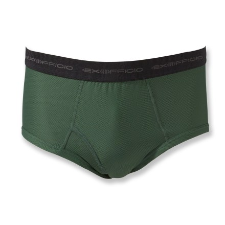 A basic travel necessity! The ExOfficio Give-N-Godeg briefs for men dry fast, so you can pack less--hand wash them, hang them up and they dry overnight. - $13.93