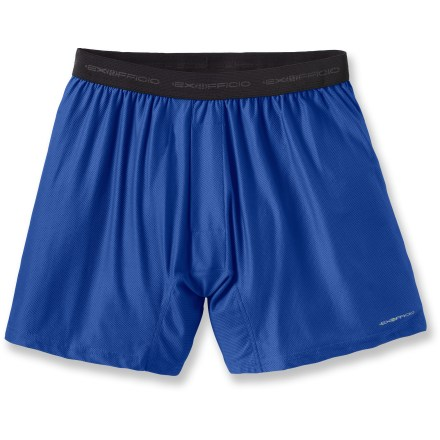 A basic travel necessity, the ExOfficio Give-N-Godeg boxers dry fast so you can wash them nightly and have less to pack. - $17.93