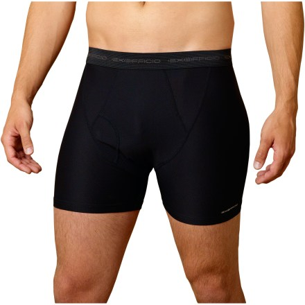 The stretchy ExOfficio Give-N-Godeg Boxer briefs may possibly be the most comfortable underwear yet! - $17.93