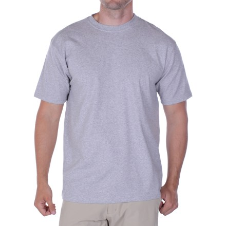 Camp and Hike You have an adventurous spirit and you need clothing that can keep up. The ExOfficio BugsAway(R) Chas'r(TM) T-shirt fends off annoying bugs and keeps you comfortable while you're on the go. - $7.83