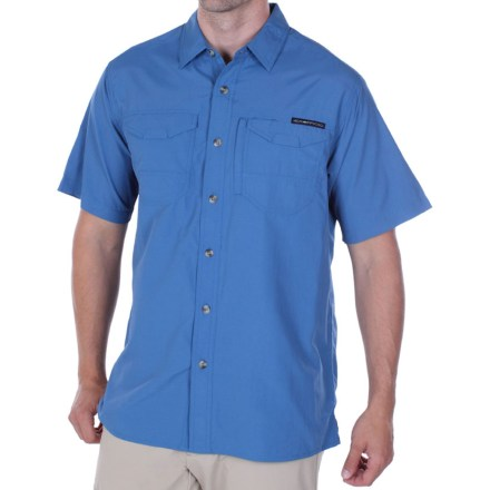 Camp and Hike The ExOfficio GeoTrekr Field shirt is built for hiking on the trail, but is equally at home in the city. - $29.73