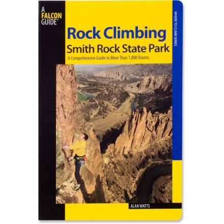 Climbing Rock Climbing Smith Rock State Park offers comprehensive coverage of the impressive crags in central Oregon near Bend. - $40.00