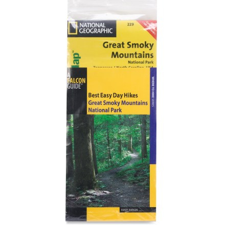 Camp and Hike The Hiking Guide and Trail Map Bundle: Great Smoky Mountains National Park includes Best Easy Day Hikes: Great Smoky Mountains and a Trails Illustrated Great Smoky Mountains trail map. - $19.95