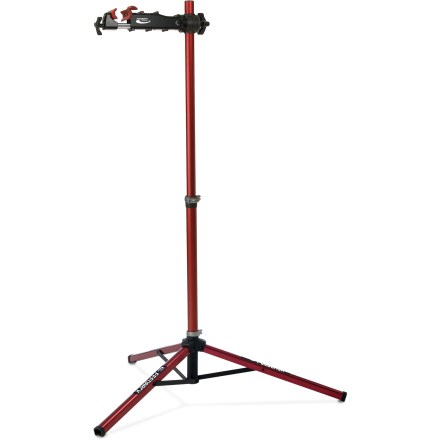 Fitness The foldable Feedback Sports Pro Elite bike repair stand is built to professional standards and weighs only 13 pounds for compact travel and storage. - $269.00