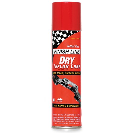 Fitness Finish Line's best selling lubricant designed for high torque pedaling conditions ranging from dry deserts to cold stream crossings - $10.00