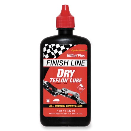 Fitness Finish Line's best selling lubricant designed for high torque pedaling conditions ranging from dry deserts to cold stream crossings. - $9.00