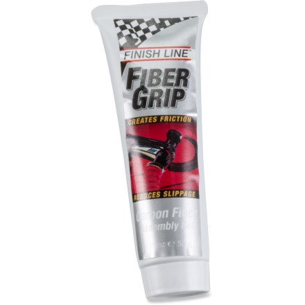 Fitness Fiber Grip(TM) Carbon Fiber Assembly gel from Finish Line is specially designed to create friction and reduce slippage between clamped carbon fiber surfaces. - $5.93