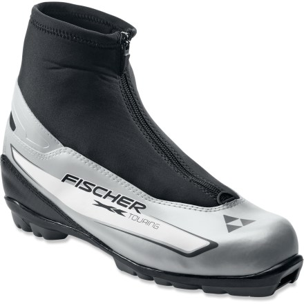 Ski The Fischer XC Touring boots are built with comfort and performance in mind, making them ideal for a day spent cruising the groomed tracks. - $37.93