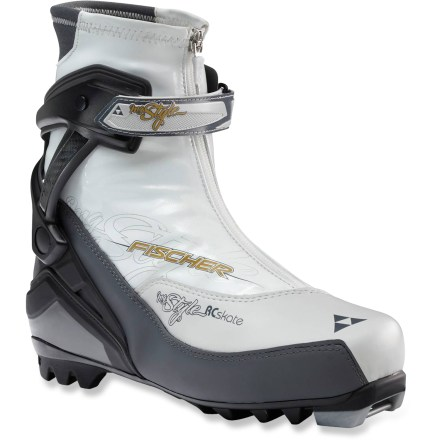 Ski The performance Fischer RC Skating My Style skate boots are ready for the finely groomed trails of your local Nordic center. They're recommended for newcomers and ambitious athletes alike. - $99.93