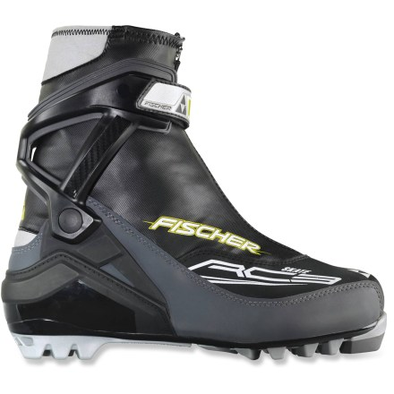 Ski The performance Fischer RC3 Skate boots are ready for the groomed trails of your local Nordic center. They're recommended for newcomers and ambitious athletes alike. - $107.93