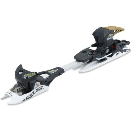 Ski The Fritschi Diamir Freeride Pro randonee bindings are the perfect match for those wide skis you plan to take out on the next big powder day. - $299.93