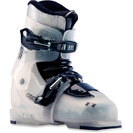 Ski Sick of shelling out big bucks on ski boots only to have your child outgrow them before the season is through? With the Full Tilt Growth Spurt adjustable ski boots, you won't have to! - $79.83