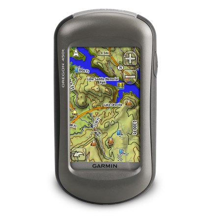 Camp and Hike With a 3-axis compass, enhanced display, touchscreen interface, spectacular trail mapping and geocaching, the Garmin Oregon 450t offers a fun and easy GPS experience. - $90.83