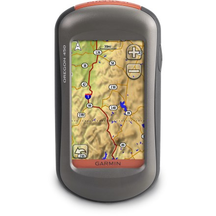 Camp and Hike With a 3-axis compass, enhanced display, incredible map presentation and geocache gaming and a vivid display, the Garmin Oregon 450 delivers a versatile and fun GPS experience. - $183.83
