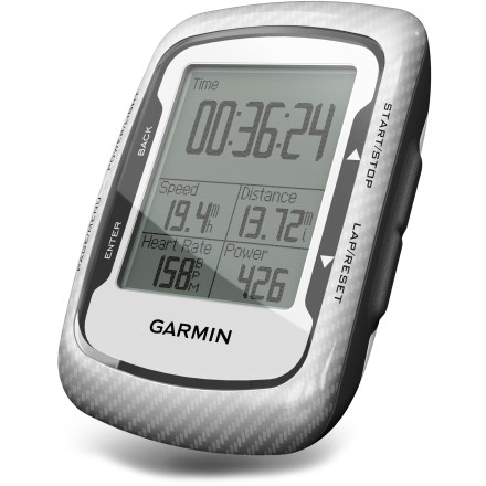 Fitness Sharpen your cycling performance with the Garmin Edge(R) 500, a lightweight GPS-based cycling computer for performance-driven cyclists. - $99.93