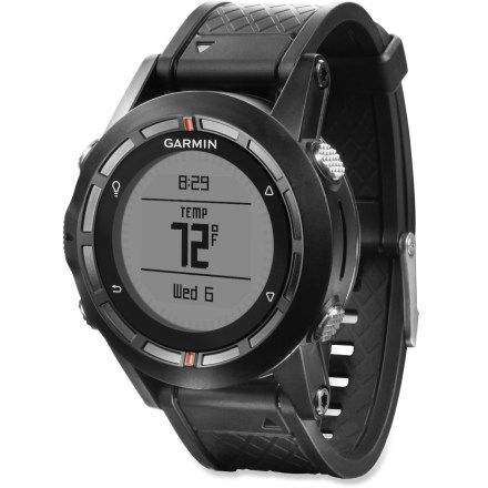 Fitness The Garmin fenix GPS + ABC watch utilizes leading GPS technology and tracking functions along with a powerful altimeter, barometer and compass. - $159.93