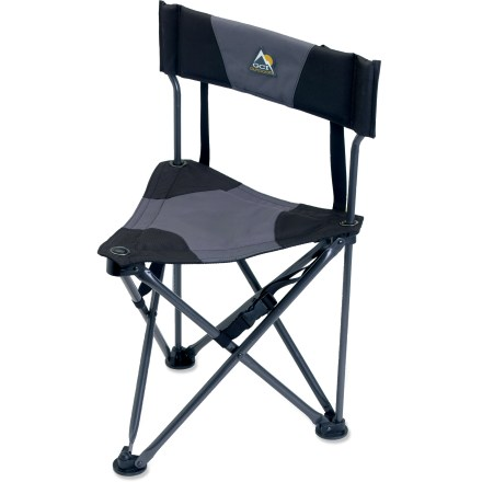Camp and Hike Take it camping, fishing or to the kid's game-the lightweight GCI Quik-E-Seat chair offers comfort and easy portability. - $17.93