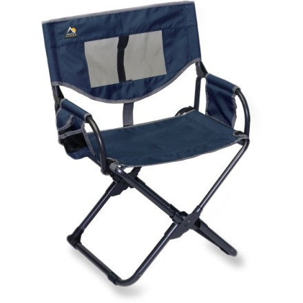 Camp and Hike Intelligent design allows the GCI Xpress Lounger chair to fold flat for easy transportation to and from the campground, kids' soccer game or backyard barbecue. - $24.93