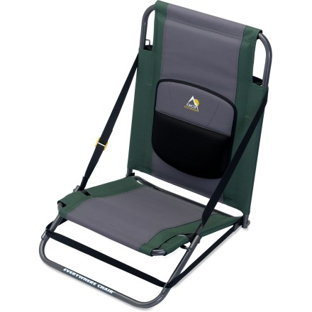 Camp and Hike This is not just another outdoor chair. It's designed to adjust to hillsides and flat ground so you can find a comfortable seat wherever you roam. - $23.93
