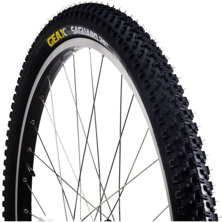 MTB The Geax Saguaro Rigid 29 x 2.2 tire offers 29ers fast-rolling cross-country performance, especially on hardpack. - $12.93