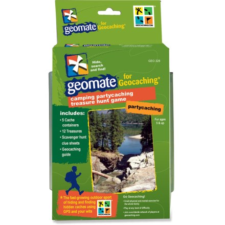 Camp and Hike The Geomate Outdoor/Camping Partycaching combo kit brings the excitement of geocaching and scavenger hunting to your next party or event. - $11.83