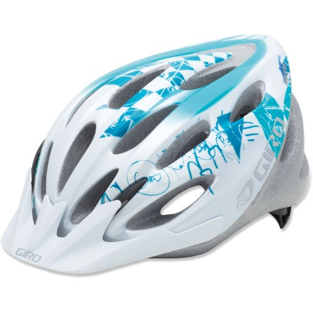 Fitness This is a great helmet for riders who want value, sleek styling and Giro quality--it's perfectly geared for on- and off-road use. - $29.93