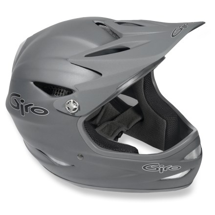 MTB The Remedy(TM) helmet is suited-up and ready for world-class downhill and progressive freeride deeds. Full-face fiberglass shell with EVA-lined chinbar. Breathe easy with 14 vents and internal air channels. Three position bolt-on visor. Washable interior lining. - $111.93
