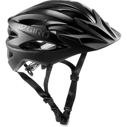 MTB The Giro Xar bike helmet is tough, stylish and, best of all, fantastically ventilated for cool comfort when you crank it up on the trail. - $96.93