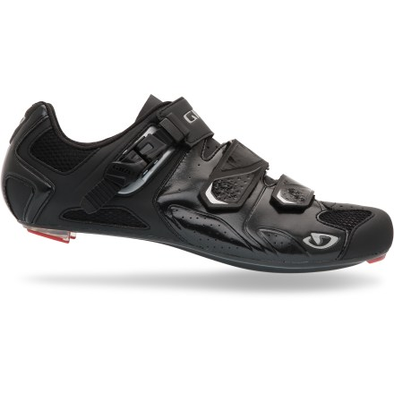Fitness Giro Trans road bike shoes offer a supportive fit with a supple upper and a stiff sole to enhance pedal efficiency and comfort. - $55.83