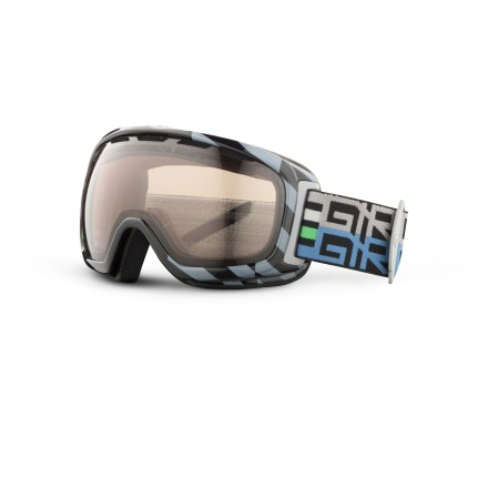 Ski These Giro Basis snow goggles offer a firm optical foundation for great times on the mountain, thanks to a Carl Zeiss Vision lens and an excellent, comfortable fit. Goggles are designed to offer an optimal fit around facial anatomy, resulting in excellent comfort and helmet compatibility. Spherical polycarbonate, dual-layer True Sight(TM) lens is made by Carl Zeiss Vision and supplies superior clarity, accuracy and a full field of vision. Vents in lens above the gasket provide an escape route for moisture; antifog coating reduces moisture buildup on inside of goggles. Triple-density face foam delivers plush comfort and seals out the elements, and is finished with a wicking microfleece. Amber Rose-tinted lens, which allows 40% visible light transmission (VLT), is well-suited for all-around use. Full-size frame of the Giro Basis snow goggles fits medium- to large-size adult faces. - $56.83