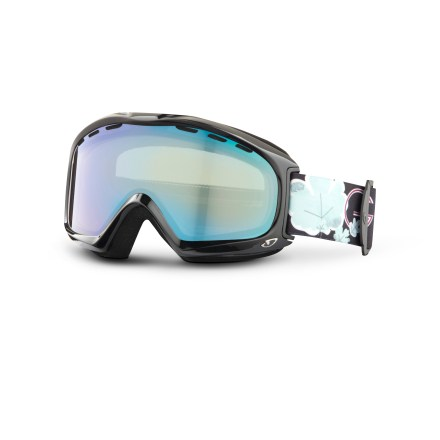 Ski The sleek Giro Siren women's snow goggles offer plenty of clear, precise optical performance and comfort for hassle-free vision through the snow-shredding season. - $34.83