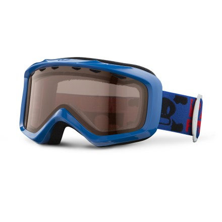 Ski The boys' Giro Grade snow goggles are packed with features such as antifog coating and plush face foam to make sure a boy can see clearly and comfortably. Youth size offers a wide field of vision and ensures a solid fit with helmets. Vented, dual lens and antifog coating helps reduce moisture buildup in goggles. Plush face foam seals out the elements and is finished with a wicking microfleece. Amber Rose lens heightens detail and increases contrast in flat light; allows 40% visible light transmission. The Giro Grade goggles for boys blocks 100% of the sun's harmful UV rays. - $20.83