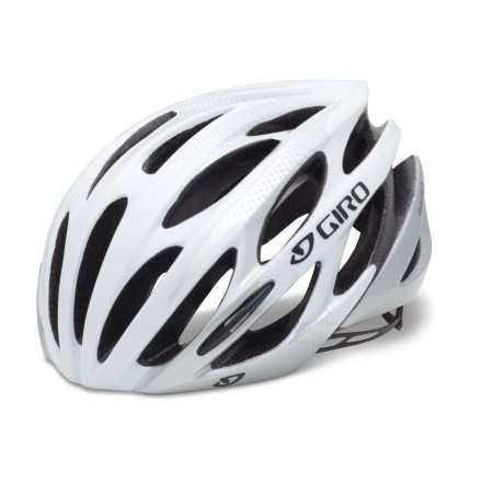 Fitness Airy and comfortable, the Giro Saros bike helmet offers plenty of ventilation and an easy-to-use fit adjustment so you can ride in comfort. - $49.93