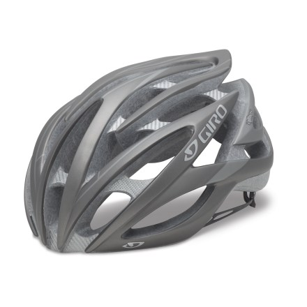 Fitness There's no need to worry about carrying excess weight up steep climbs with the Giro Atmos(TM) helmet; extremely lightweight but incredibly strong materials ensure maximum protection. - $89.93