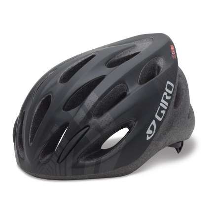 Fitness Whether you're tearing up country roads at 25 mph or doing errands in more urban locales, you'll be glad you have the durable but totally breathable Giro Transfer(TM) bike helmet. In-mold technology reinforces crucial areas around the ribs and vents, resulting in a light, cool, tough helmet. Acu Dial(TM) fit system offers a wide range of adjustment and extra stability, while simplifying the fit process. Giro Transfer helmet features 20 vents to keep you cool. - $25.93