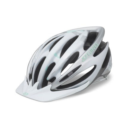 Fitness Loaded with features that enhance comfort and designed for high performance riding, the Giro Sapphire(TM) bike helmet makes the long road ahead seem a little less daunting. - $74.93