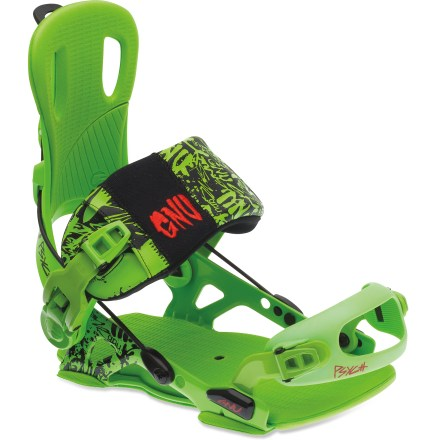 Snowboard Looking for an ultralight binding that's big on support? Look no further than the GNU Psych snowboard bindings. - $113.83
