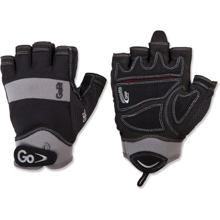Fitness The GoFit Elite weight lifting gloves protect your hands and improve your grip during workouts with barbells and kettlebells. - $19.95
