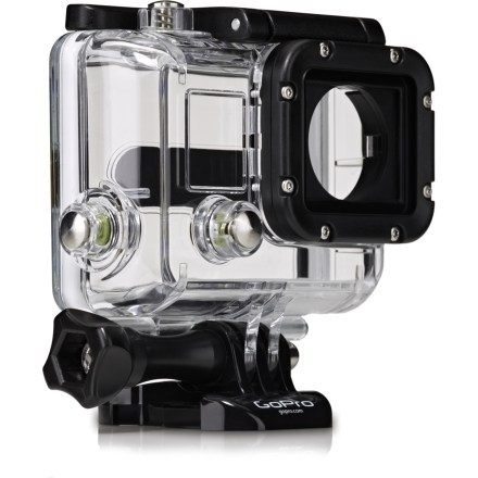 Entertainment The GoPro HERO3 replacement housing offers a waterproof and shock-resistant shell to any HERO3 camera. - $29.93