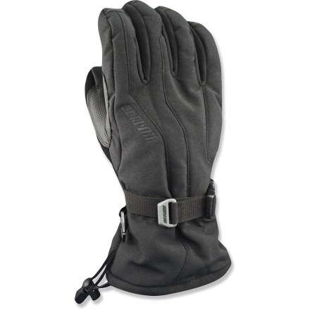 Ski The comfortable Gordini Fall Line gloves wrap your digits in waterproof and breathable protection when you're taking on the slopes in cold, wet weather. - $12.83
