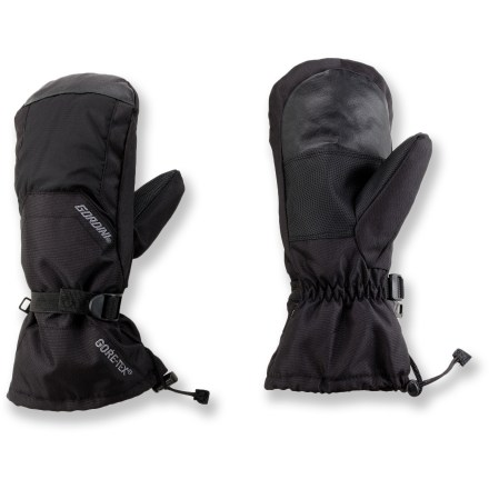 Ski The Gordini Gore-Tex(R) Gauntlet snow mittens offer winter sports enthusiasts warmth and comfort while enjoying the great outdoors. - $22.73