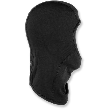 Ski The Gordini Lavawool Fleece balaclava retains warmth around your face, so whipping winds on the mountain won't phase you. Lavawool(R) combines warmth and wicking of fleece with natural insulating properties of wool to keep you cozy and dry. Special buy. - $11.93