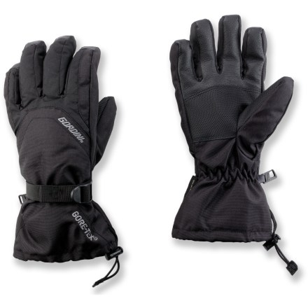 Ski The Gordini Gore-Tex(R) Gauntlet snow gloves stand up to the harshest conditions, and keep hands warm and comfortable. - $37.73