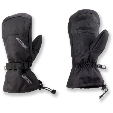 Ski Choose the Gordini Gore-Tex(R) Gauntlet snow mittens for skiing, snowboarding, sledding and just walking around in the snow. - $37.73