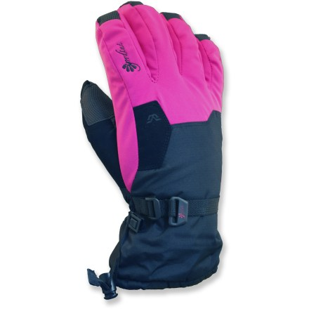 Ski Little hands will appreciate the big warmth of the Gordini Stomp II snow gloves. - $24.73