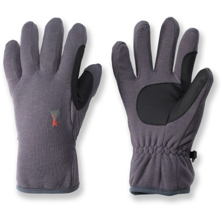 Ski Wear the Gordini Lavawool(R) Fleece II gloves on their own for chilly morning runs or as liners when the weather is especially cold. Polyester/wool blend wicks moisture away to keeps hands warm and dry. Overstock. - $5.73